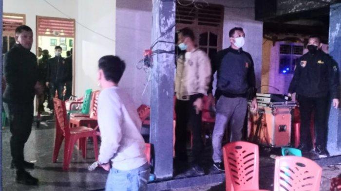 BREAKING NEWS Kapolres-Dandim Tanggamus Lampung Bubarkan Paksa Acara Hiburan Organ Tunggal