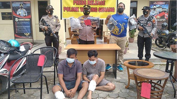 Melawan Saat Diamankan Polisi, Pencuri Kursi Antik Bandar Lampung Dapat Hadiah Timah Panas