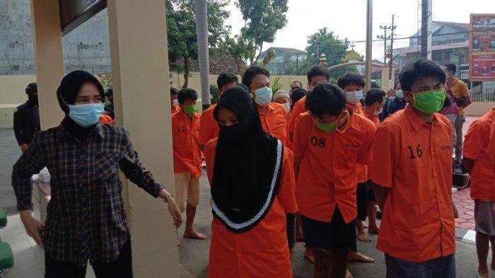 BREAKING NEWS Konsumsi Sabu, Pasutri Pedagang Cilor di Pringsewu Diringkus Polisi
