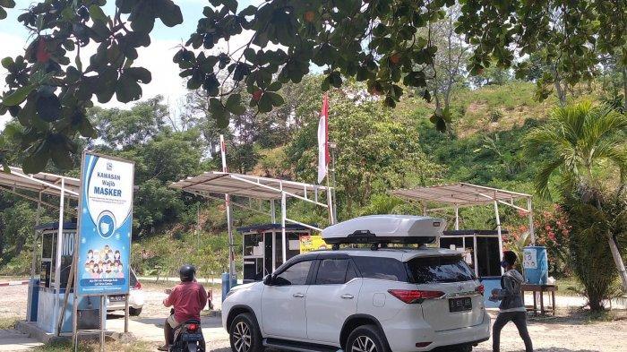 BREAKING NEWS Libur Panjang, Pantai Mutun Pesawaran Diserbu Pengunjung