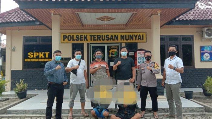 BREAKING NEWS Pelaku Pembobolan Rumah di Lampung Tengah Ditangkap Polisi