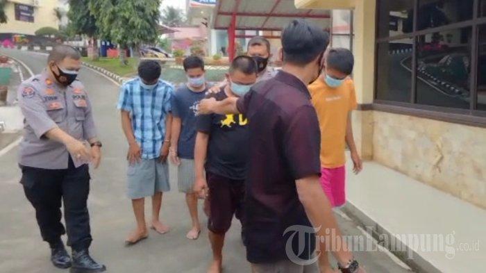 BREAKING NEWS Pelaku Penodongan di Lampung yang Viral Akhirnya Ditangkap Polisi