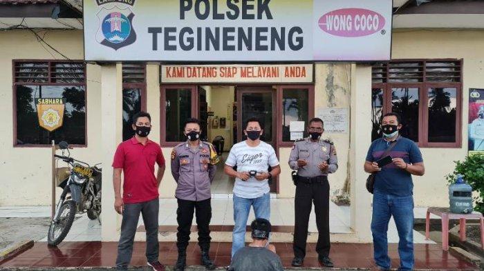 BREAKING NEWS Pengangguran Asal Lampung Timur Todong Pistol Lalu Rampas HP Pengendara di Pesawaran