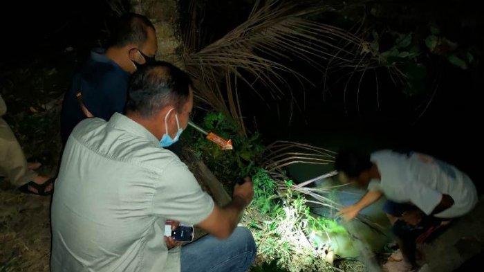 BREAKING NEWS Petani di Pringsewu Lampung Ditemukan Tewas Telungkup di Tepi Sungai Way Semak