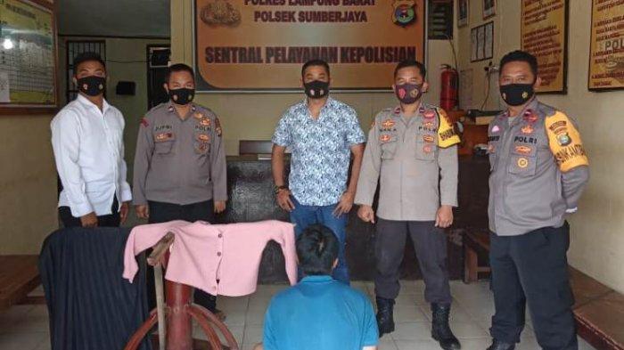 BREAKING NEWS Polisi Ringkus Pria Pelaku Kekerasan Terhadap Anak di Lampung Barat