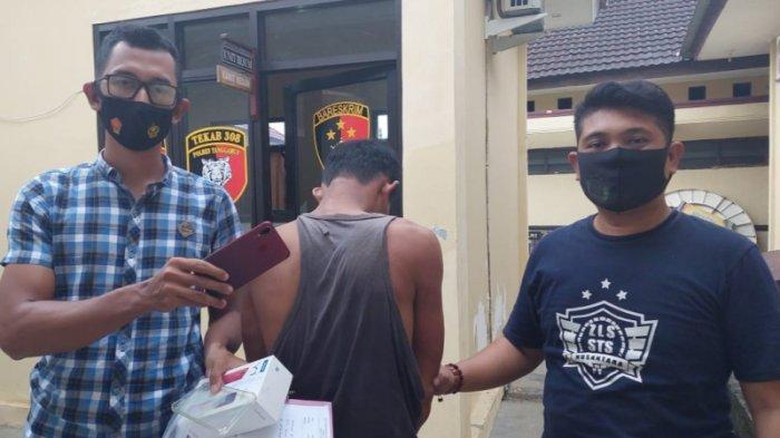 BREAKING NEWS Polisi Tembak Kaki Pelaku Jambret yang Beroperasi di Tanggamus dan Pringsewu