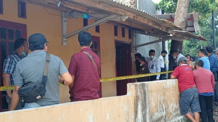 BREAKING NEWS Polres Lampung Selatan Gelar Rekontruksi Pembunuhan Wanita di Kamar Kos