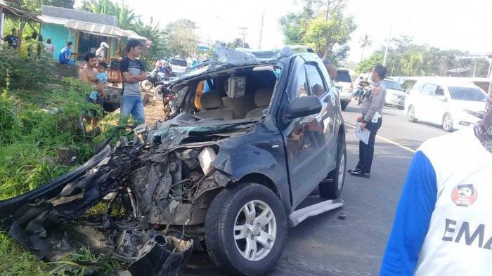 BREAKING NEWS Randis Kabag SDA Setdakab Lampung Selatan Kecelakaan di Jati Permai Kalianda