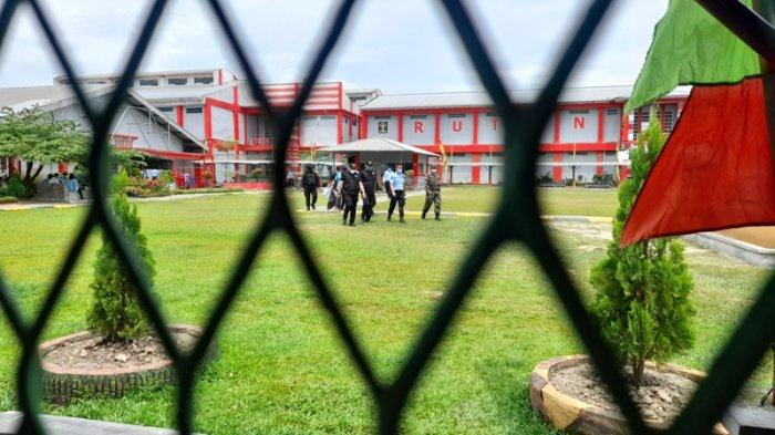BREAKING NEWS Rutan Kelas I Bandar Lampung Gelar Razia Mendadak Blok Penghuni