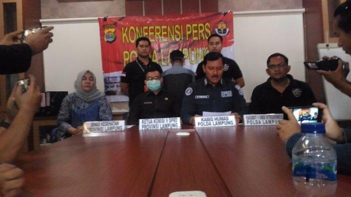 BREAKING NEWS Sebar Hoaks PDP di RSUDAM Meninggal, Warga Bandar Lampung Diamankan Polisi