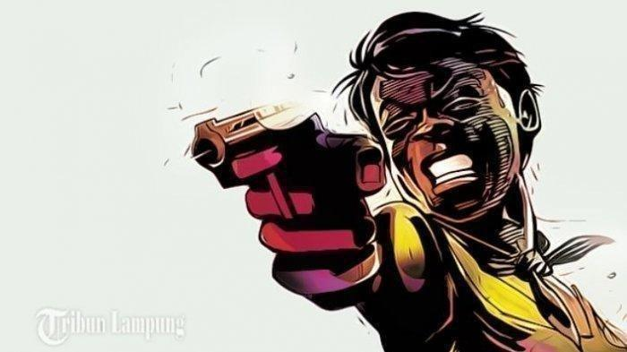 BREAKING NEWS Seorang Suami di Tulangbawang Berondong Istri dengan Tembakan