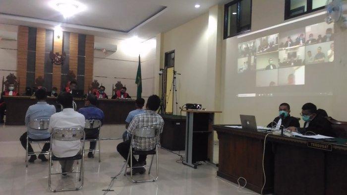 BREAKING NEWS Sidang Online Dugaan Suap Fee Proyek Lampura Tak Dihadiri JPU dan Terdakwa