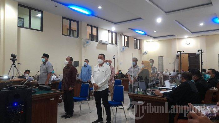 BREAKING NEWS Sidang Suap Fee Proyek Lampung Selatan Jilid II, JPU Hadirkan 8 Saksi