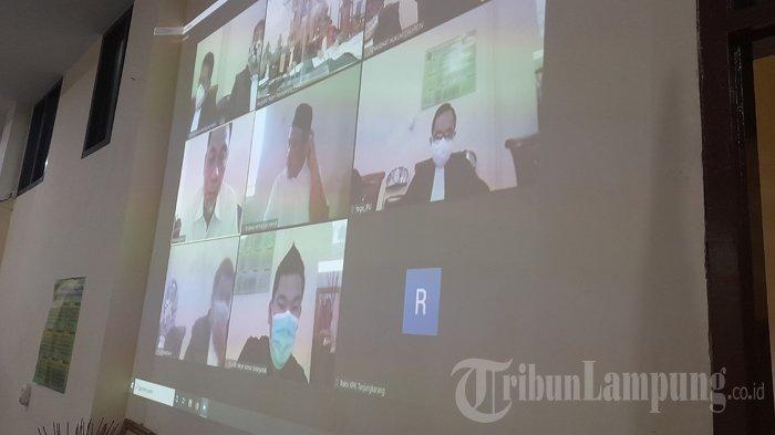 BREAKING NEWS Sidang Suap Fee Proyek Lampung Selatan Jilid II, Syahroni Setor Bertahap
