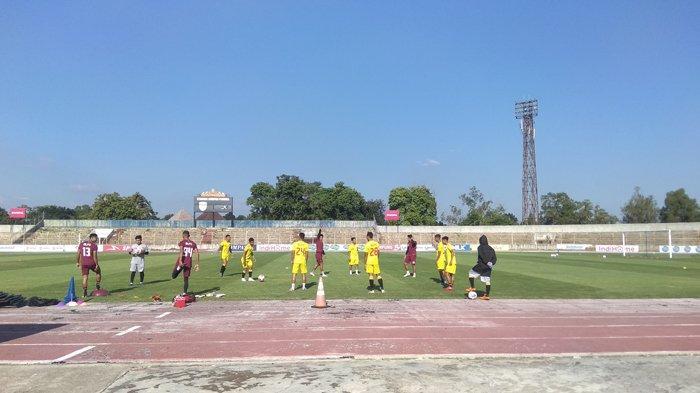 BREAKING NEWS Skuat Badak Lampung Mulai Latihan Perdana di Stadion Sumpah Pemuda