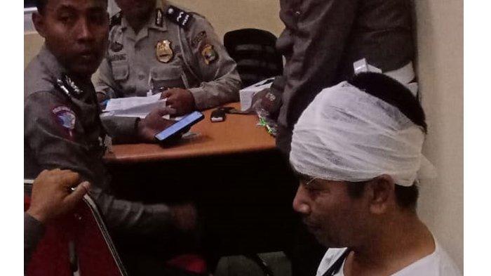 BREAKING NEWS - Sopir Bus Selamat dari Lakalantas Maut di Way Kanan, Amin Saypudin: Saya Loncat Kaca