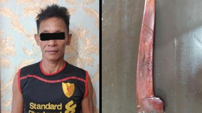 BREAKING NEWS Tengah Malam Bawa Sajam, Warga Bandar Mataram Ditangkap Polisi