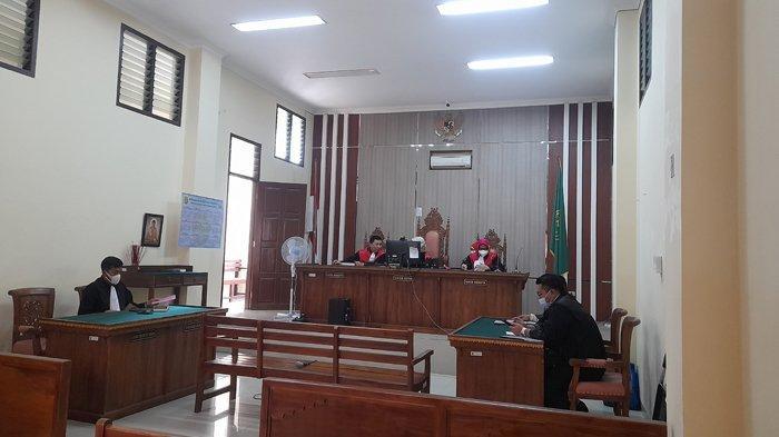 BREAKING NEWS Terdakwa Kasus Korupsi Dana BOK Lampung Utara Ajukan Nota Pembelaan