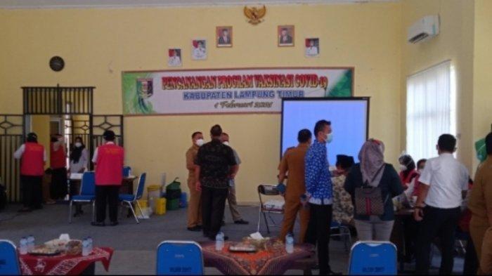 BREAKING NEWS Vaksinasi Covid-19 Pertama di Lampung Timur Digelar Serentak di Seluruh Puskesmas