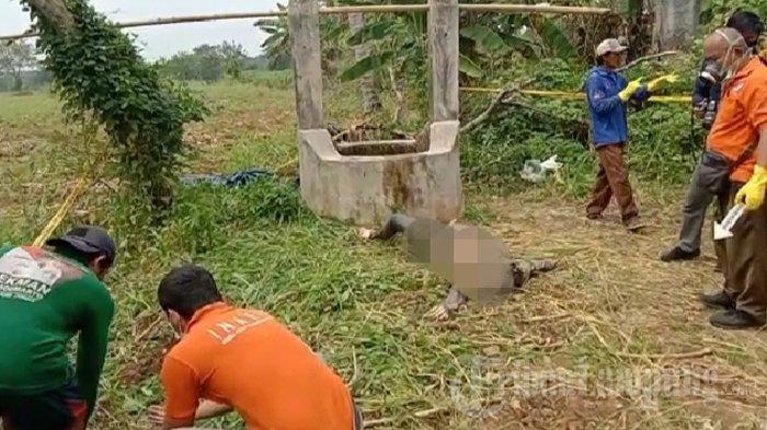 BREAKING NEWS Warga Lampung Tengah Temukan Mayat Perempuan Dalam Sumur