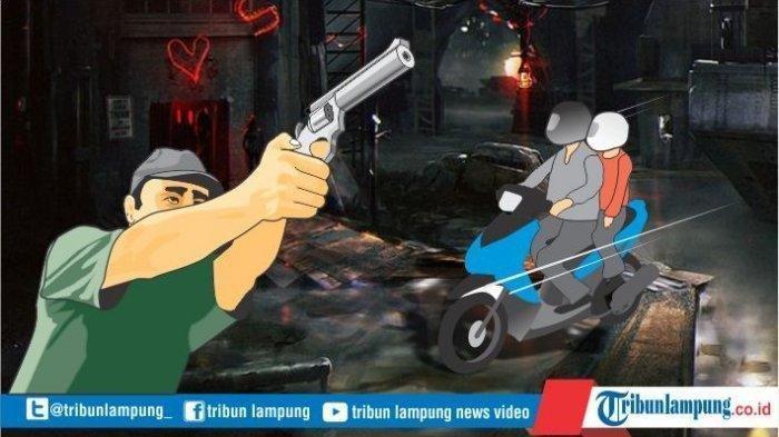 Detik-detik Korban Dibegal 3 Pria Bersenjata Tajam di Lampung Tengah