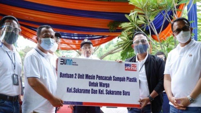 BRI Peduli Memberikan Program CSR Konservasi Kawasan Sungai Sukarame