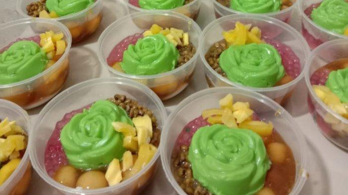 Kuliner Lampung, Orlin Snack Gisting Kembangkan Bubur Srintil Khas Semarang
