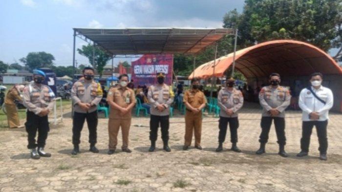 Buka 4 Gerai Vaksinasi, Polres Lampung Timur Sediakan 1.292 Dosis untuk Masyarakat