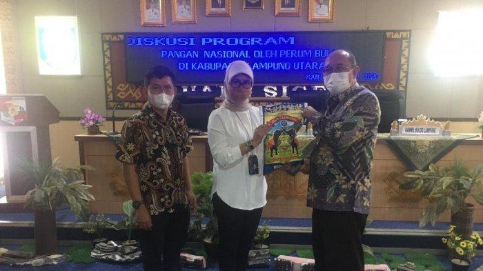 Bulog Kenalkan Tiga Jenis Beras yang Ada di Lampung Utara