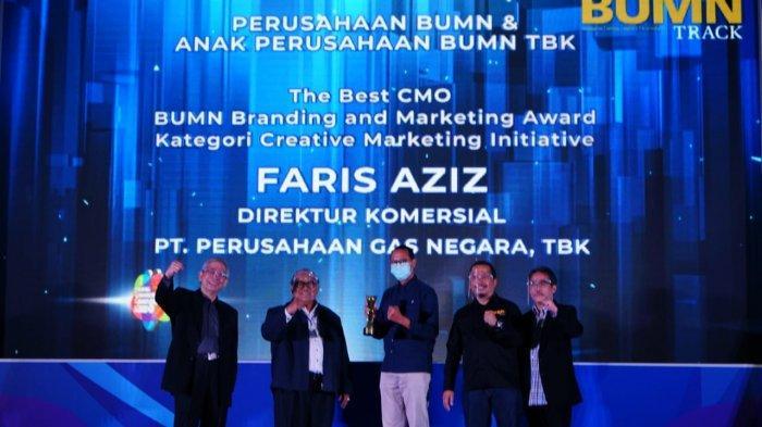 Perusahaan Gas Negara Group Raih 4 Kategori Penghargaan BUMN Branding and Marketing Award 2020