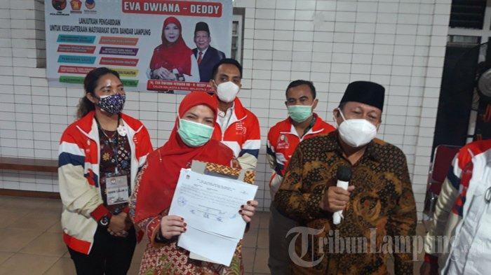 Bunda Eva Siapkan Diri untuk Pelantikan, Seusai KPU Bandar Lampung Tetapkan Paslon Terpilih