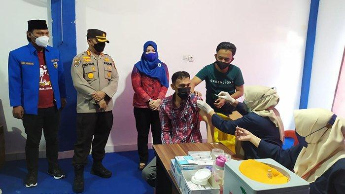 Bung Iqbal Terima Kasih atas Kunjungan Kombes Ino Harianto atas Dukungan Vaksinasi Tahap 2