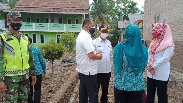 Hulu dan Hilir Sungai Way Liwok Tanggamus Fokus Normalisasi Cegah Banjir