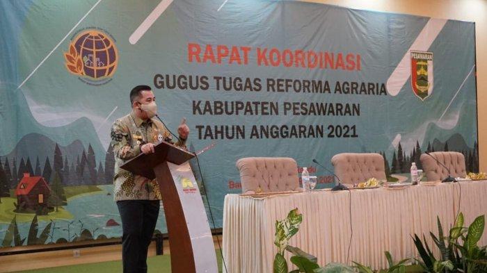 Bupati Dendi Harap Masalah Tanah di Pesawaran Lampung Selesai Secara Persuasif