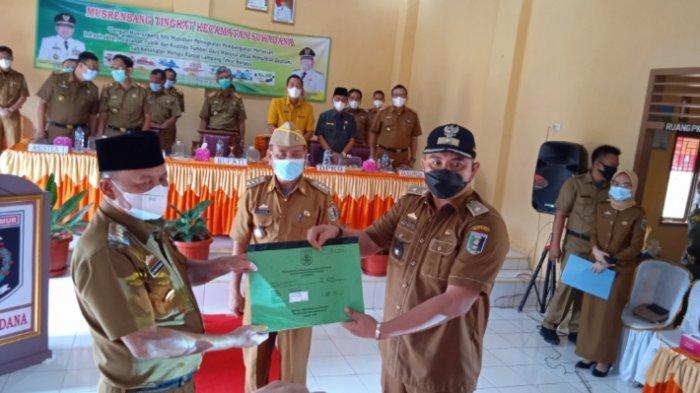 Bupati Lampung Timur Dawam Rahardjo Ingatkan Camat untuk Setorkan PBB Warga