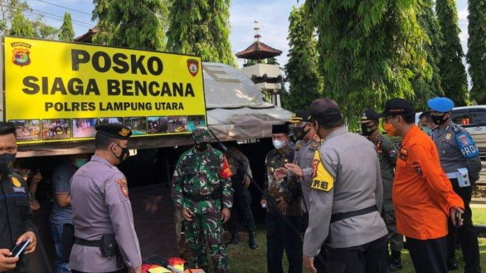 479 Personel Disiagakan untuk Siaga Bencana di Lampung Utara