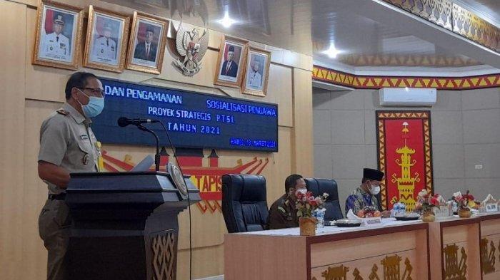 Bupati Lampung Utara Budi Utomo Sambut Baik Pengawalan APH Terhadap PTSL