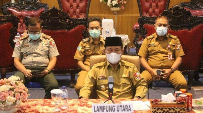 Bupati Lampung Utara Terima 2 Penghargaan Penanganan Covid-19