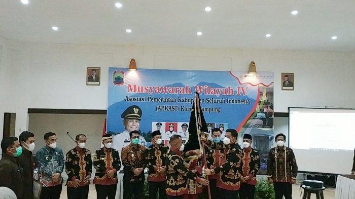 Musa Ahmad Pimpin APKASI Lampung Periode 2021-2026