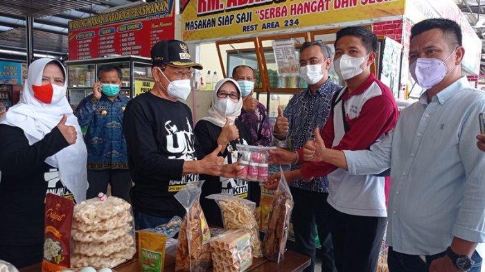Produk UMKM Mesuji Lampung Ada di Rest Area Km 234, Bupati: Perkenalkan Daerah Lewat Produk Lokal