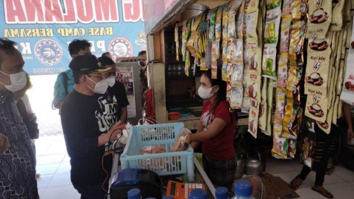 Kunjungi Rest Area Km 234, Bupati Mesuji Lampung Sebut Usai PPKM Omzet Pedagang Membaik