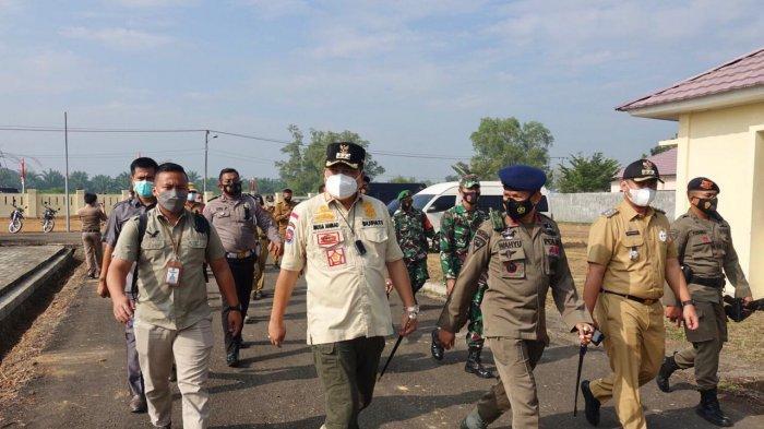 Bupati Musa Ahmad Ingin Mako Kompi 1 Batalyon B Pelopor Jaga Keamanan Lampung Tengah