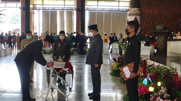 Lantik Pejabat Eselon 2 Lamteng, Musa Ahmad Jamin Pelantikan Sesuai Kredibiltas dan Kemampuan