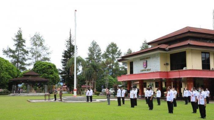 Bupati Parosil Lantik 88 Pejabat Eselon III di Pemkab Lampung Barat