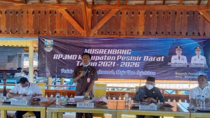 Bupati Agus Istiqlal Buka Secara Resmi Musyawarah Perencanaan Pembangunan RPJMD Tahun 2021-2026