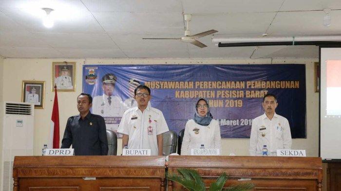 Pemkab Pesibar Gelar Musrenbang Kecamatan Pesisir Tengah.