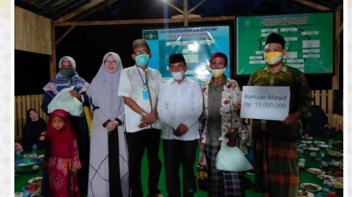 Jalin Silaturahmi, Agus Istiqlal Beri Bantuan Ke Pondok Pesantren Nurul Huda Kupang Ulu Marang