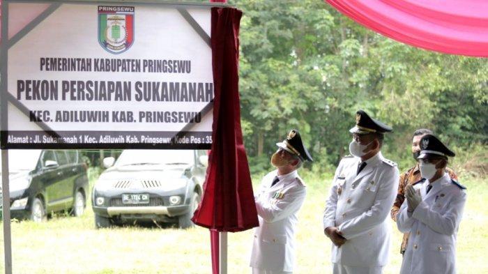 Bertambah 2, Pringsewu Lampung Kini Punya 128 Pekon