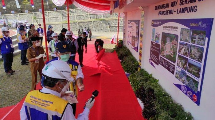 Bupati Pringsewu Tinjau Kesiapan Lokasi Bendungan Way Sekampung yang Akan Dikunjungi Wapres