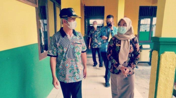 Bupati Sujadi Tinjau Kesiapan Pembelajaran Tatap Muka di MIN 1 Pringsewu Lampung